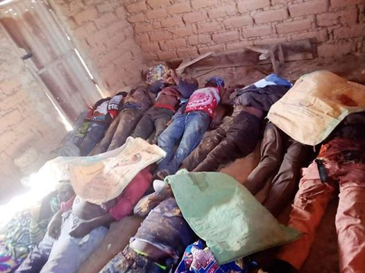 Photos of youths butchered by suspected herdsmen in Plateau State