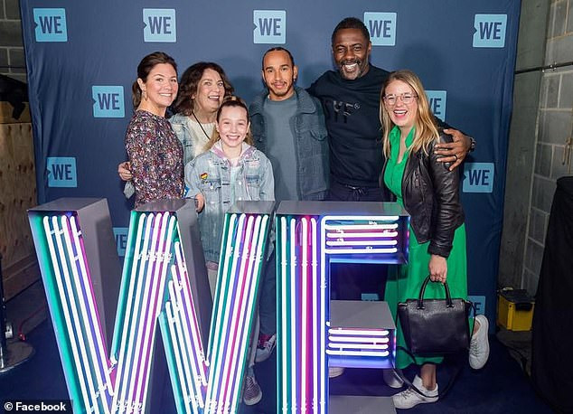 Lewis Hamilton turns down coronavirus test despite meeting with Idris Elba and Sophie Trudeau who later tested positive for the disease